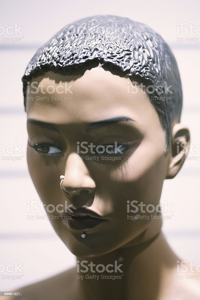 Dummy head royalty-free stock photo