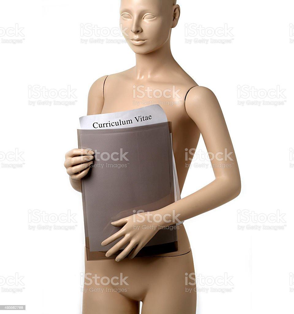 Adolescente ragazza nuda