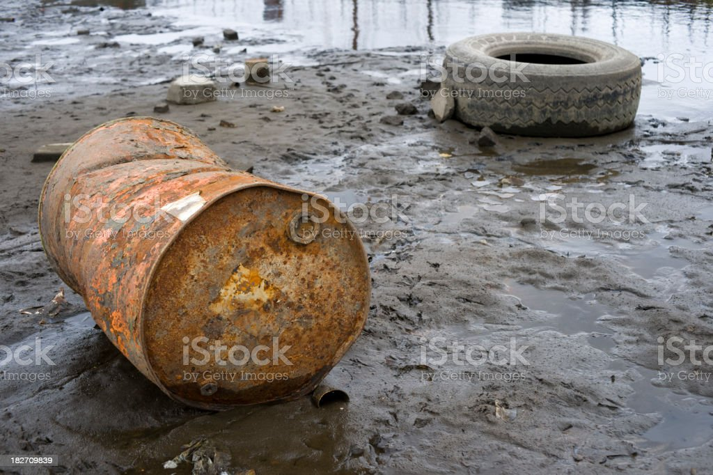Dump royalty-free stock photo