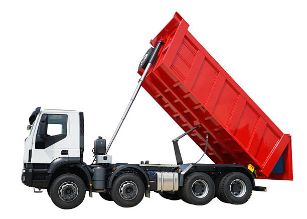 Dump Truck Isolated