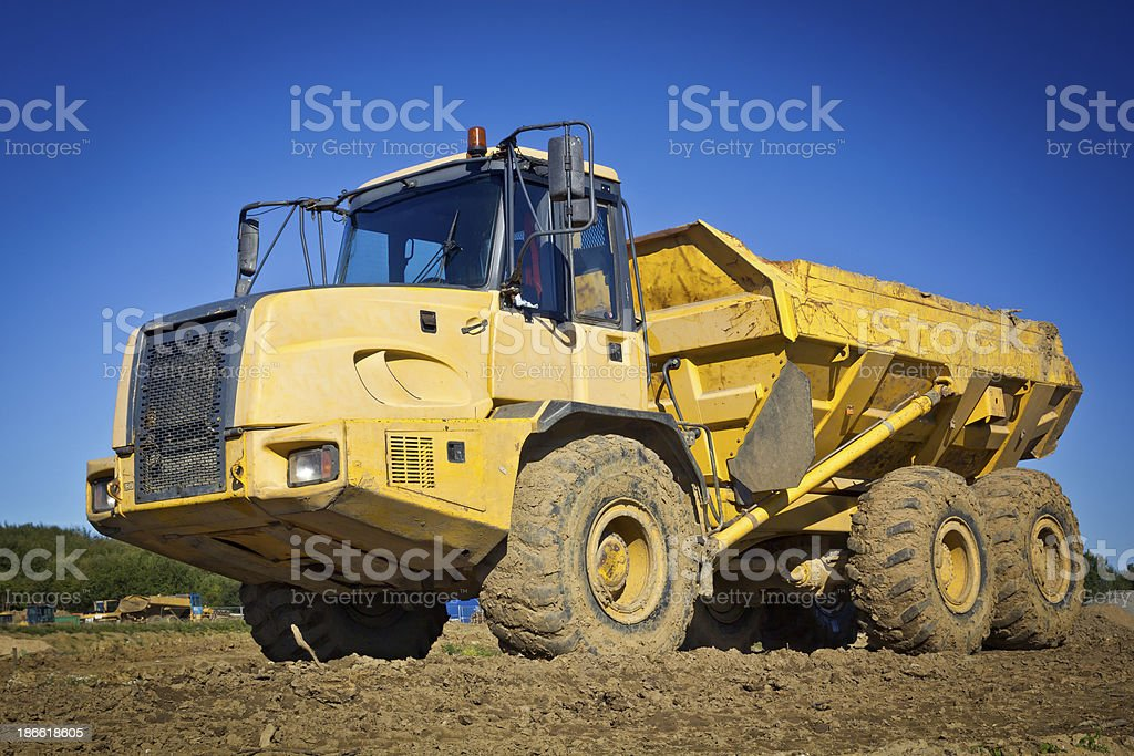 Dump Truck royalty-free stock photo