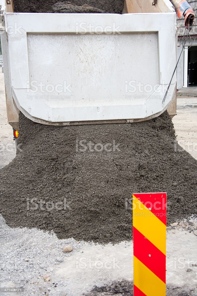Dumping Dry Concrete Stock Photo - Download Image Now - iStock