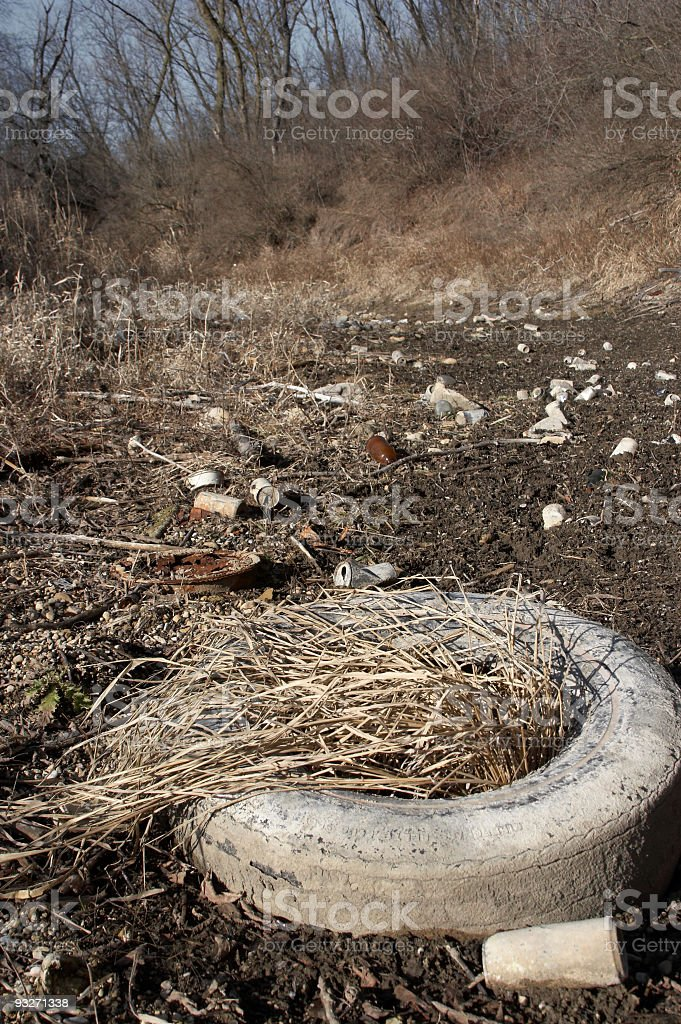 Dumping Ground royalty-free stock photo
