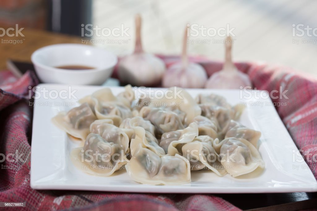 dumplings royalty-free stock photo