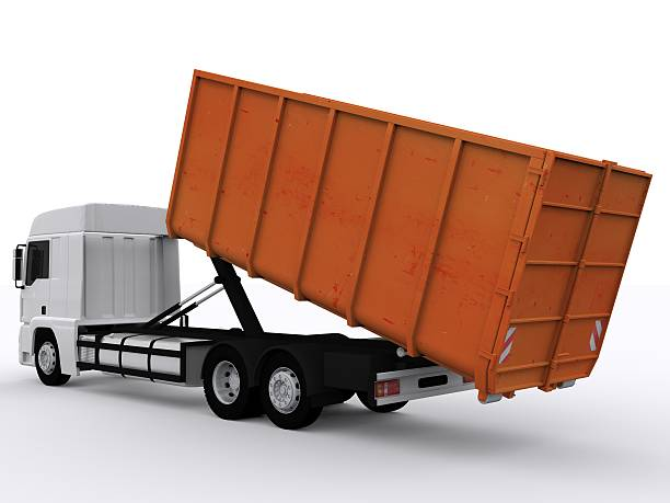 dumpster container - garbage bin stock photos and pictures