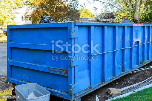 istock Dumpsters being full with garbage 893249524