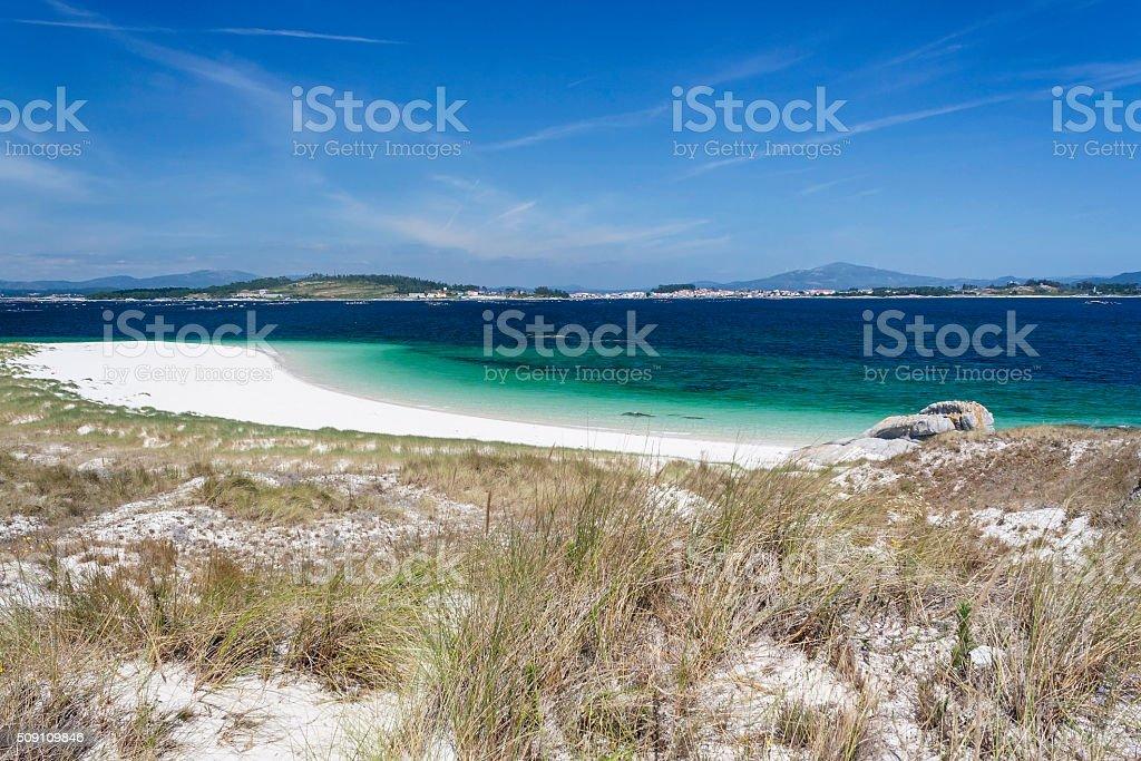 Duna y Playa en la Isla de El Areoso - foto de stock