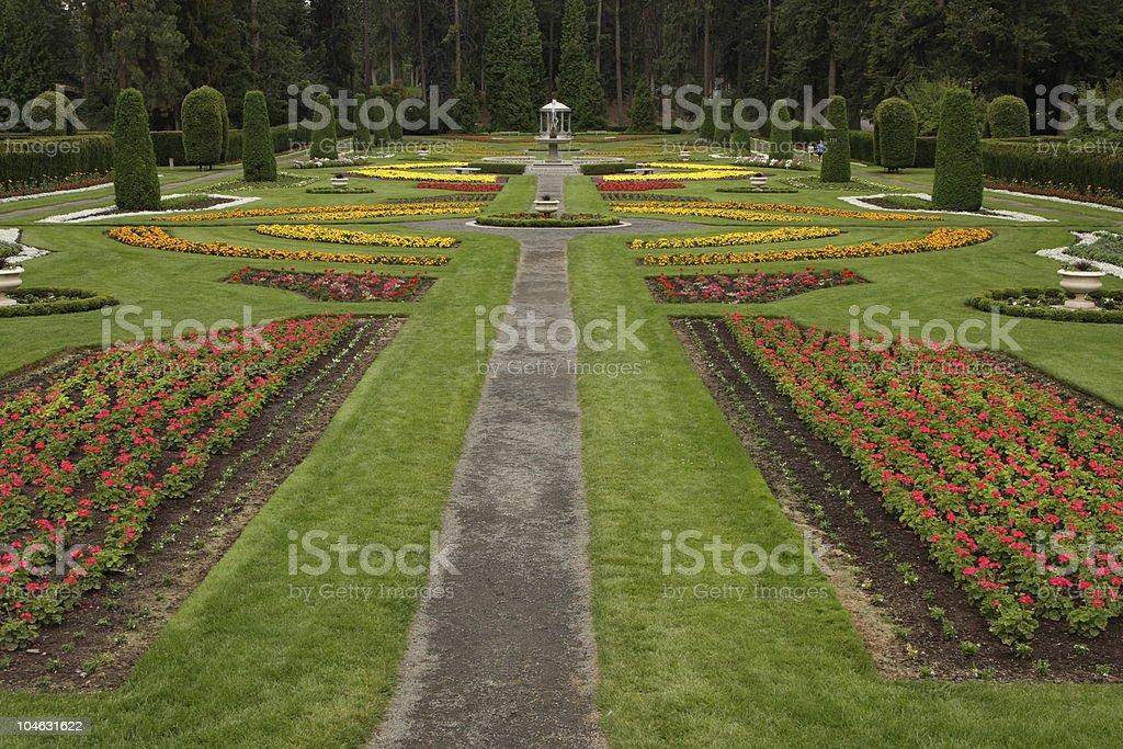 Duncan Gardens Manito Park stock photo