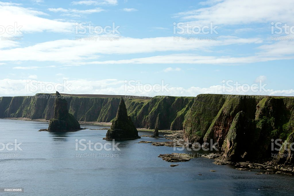 Duncansby Stacks stock photo