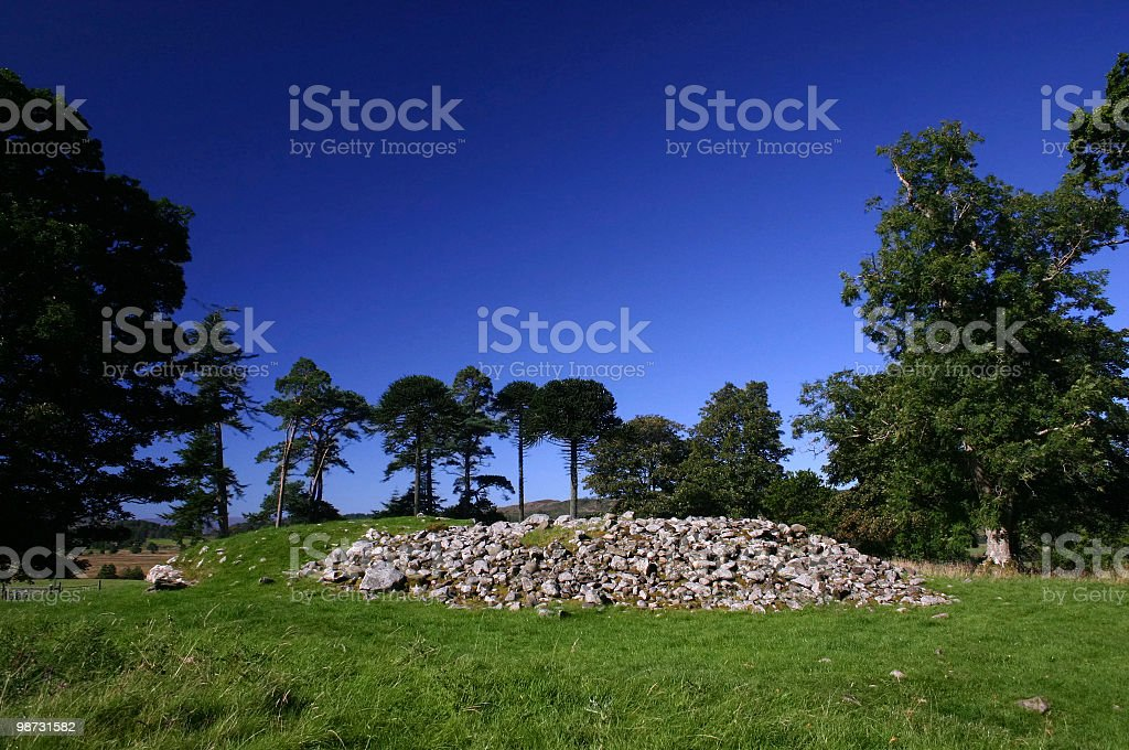 Dunchraigaig Cairn royalty-free stock photo