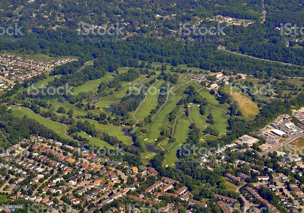 Dundas Valley Golf royalty-free stock photo