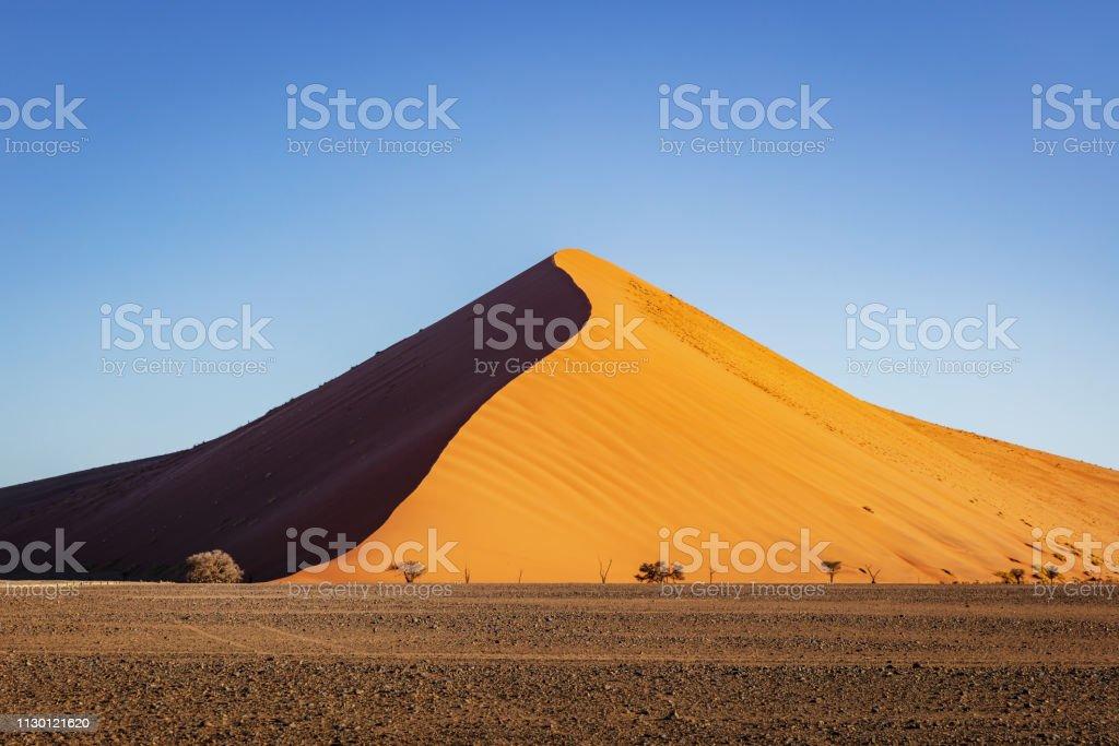 Dune 40 Sossusvlei Nambia Desert Sand Dune stock photo