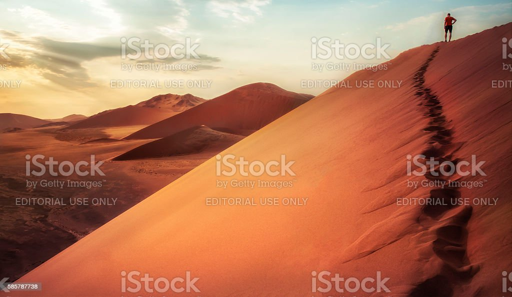 Dune 45 - Sossusvlei stock photo
