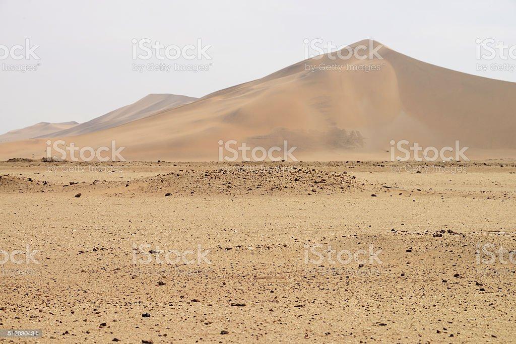 Dune 7, Walvis Bay, Namibia stock photo