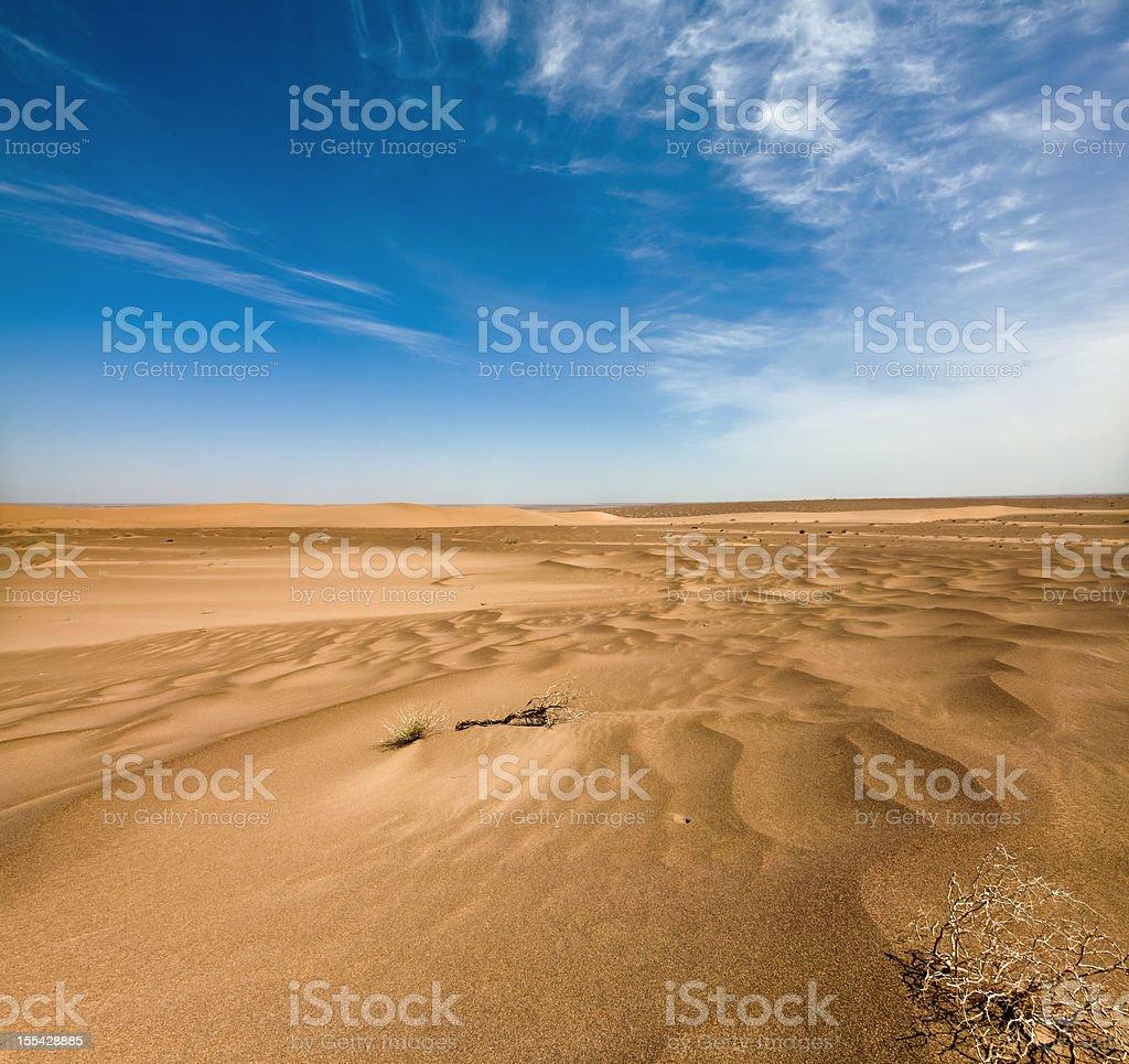 Desert dunes and sand textures in the Badain Jaran Desert, Inner...