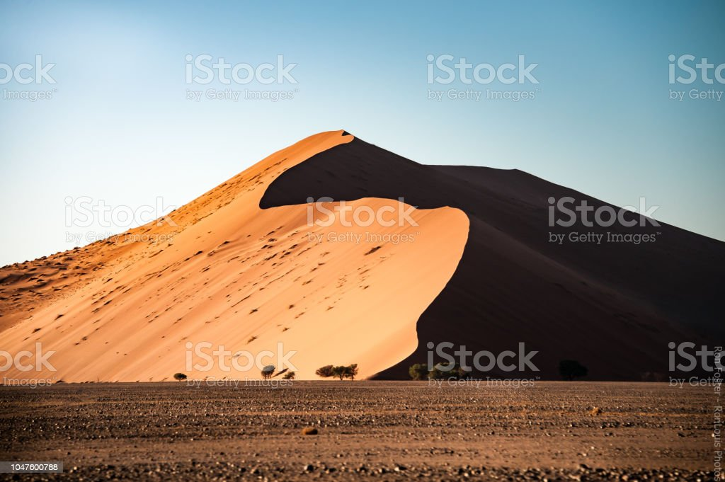 Dune and Shadows stock photo