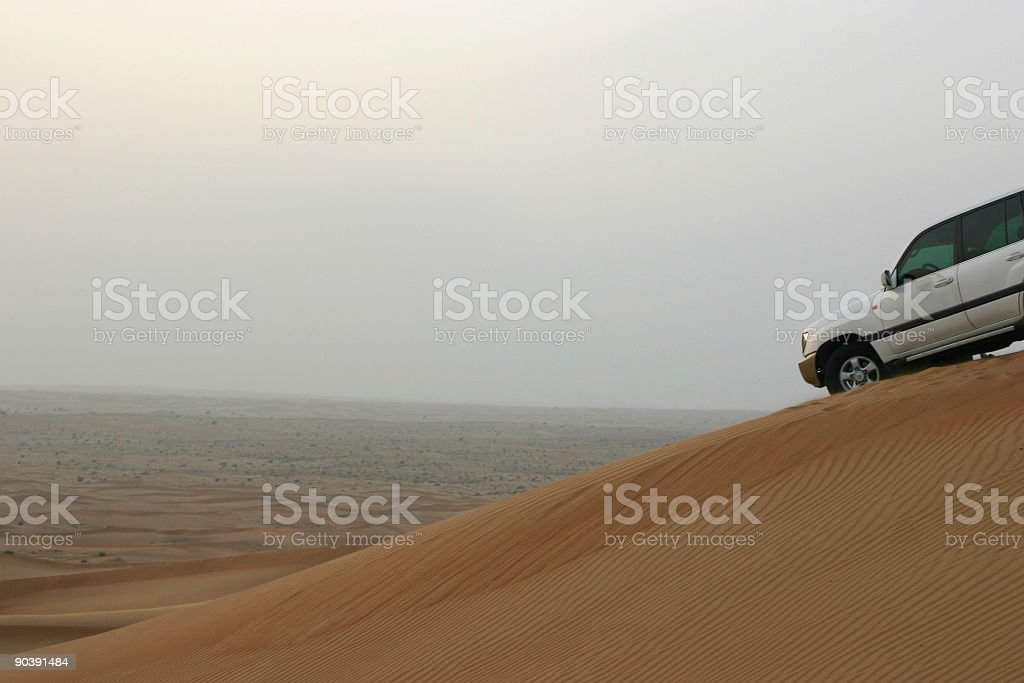 Dune bashing stock photo