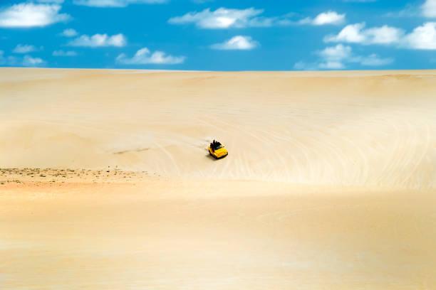 dune buggies,natal.brazil - pferdekutsche stock-fotos und bilder
