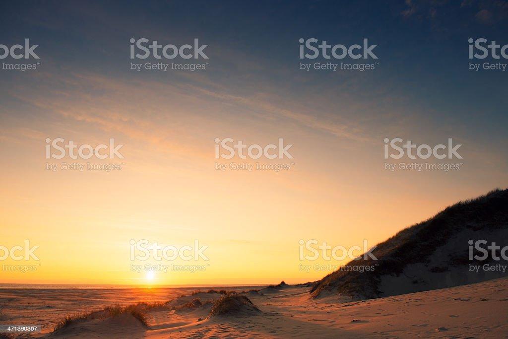 Dune gras royalty-free stock photo