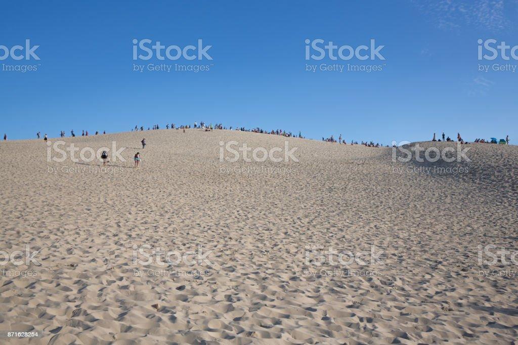Dune Of Pyla, Arcachon Bay (France) stock photo