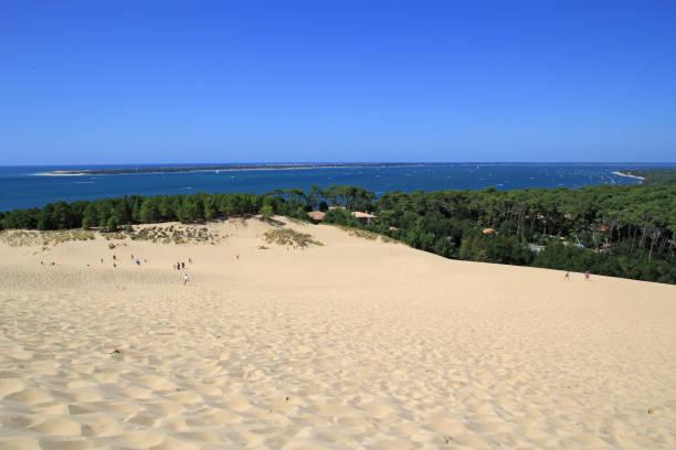 Dune of Pyla, France stock photo