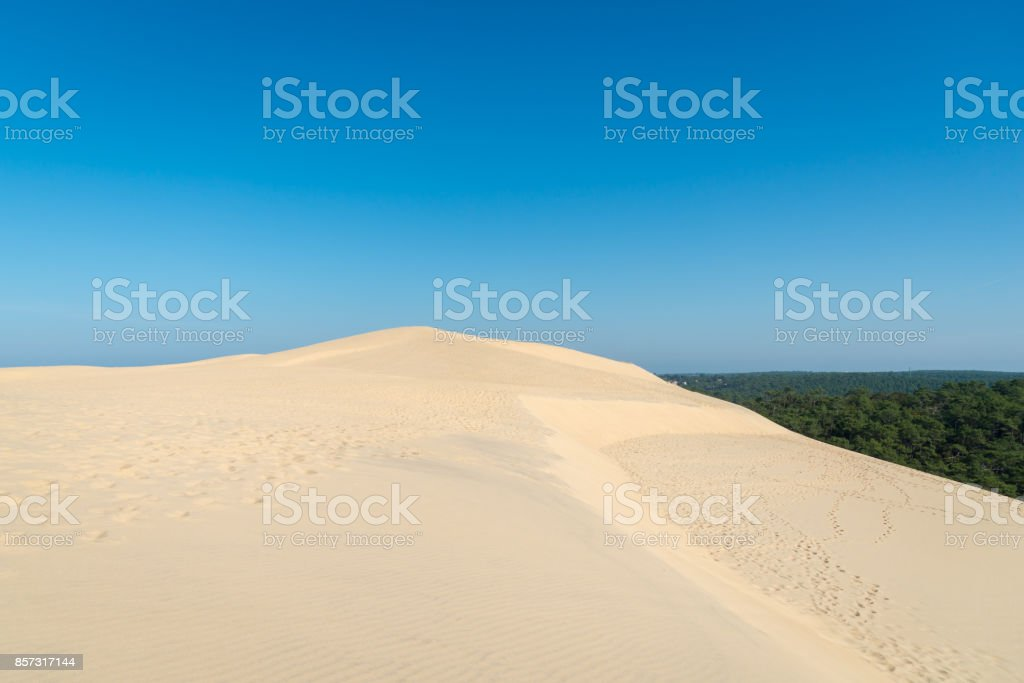 Dune Of Pyla On The Arcachon Bay France Stock Photo Download