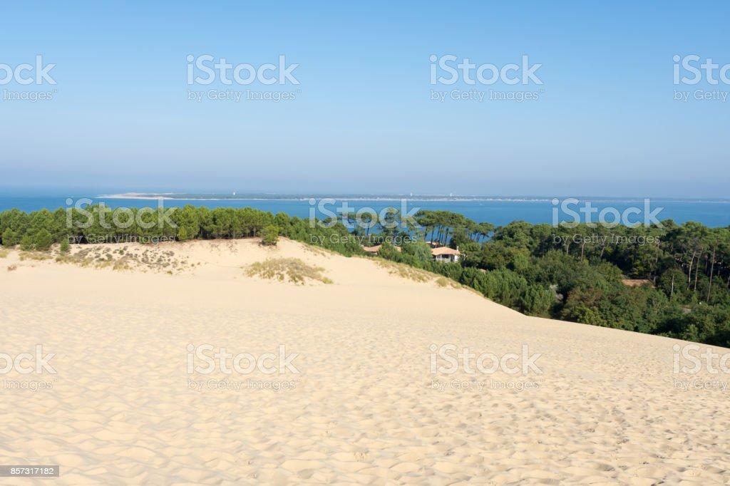 Dune du Pyla (ou Pilat), sur la baie d'Arcachon, France - Photo
