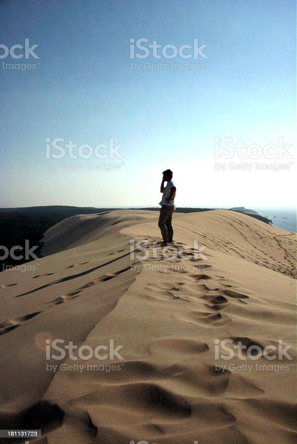 dune_of_pila_france stock photo