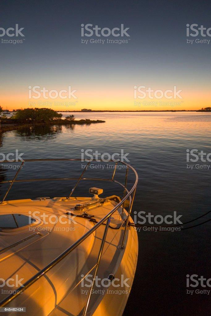 Dunedin Twilight stock photo