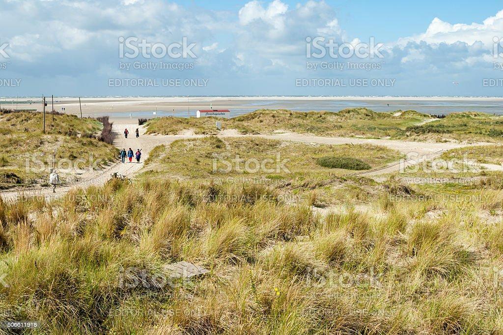 Dunes beach, Borkum, Deutschland – Foto