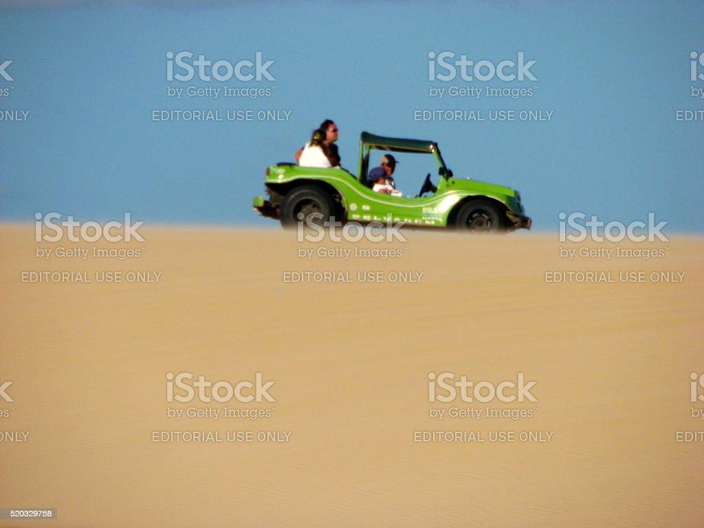 Dunes and desert in Natal, RN, Brazil stock photo