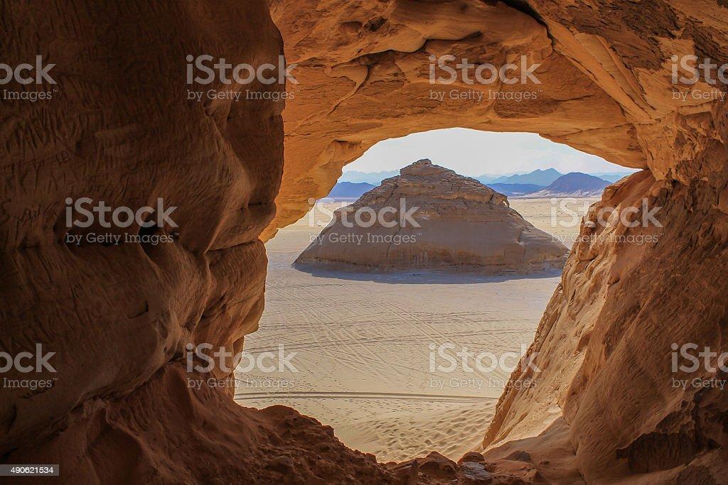 dunes around Dahab stock photo