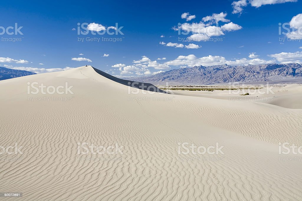 Dunes at Mesquite Flats royalty-free stock photo