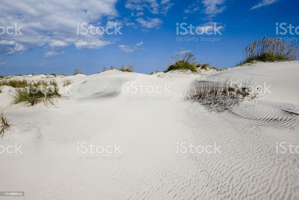 Dunes of Hatteras stock photo