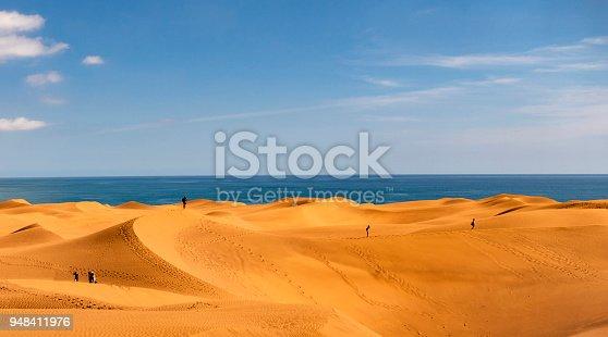 Dunes of maspalomas - Canary Islands, Spain