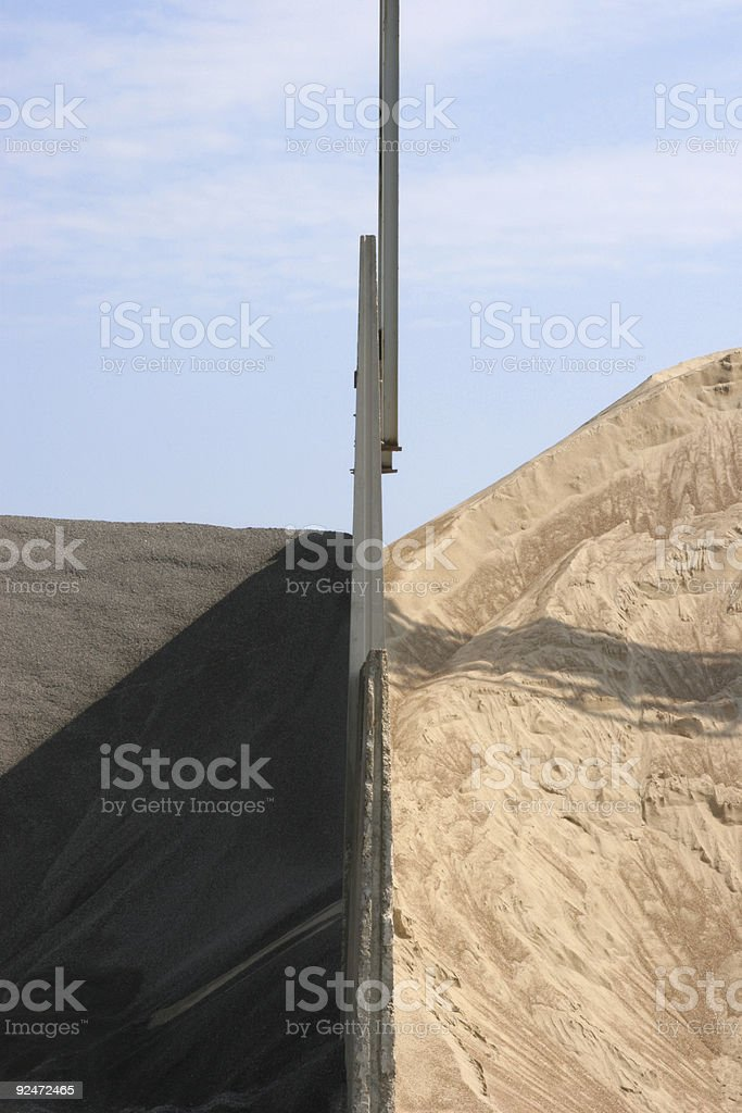 dunes of sand 1 royalty-free stock photo