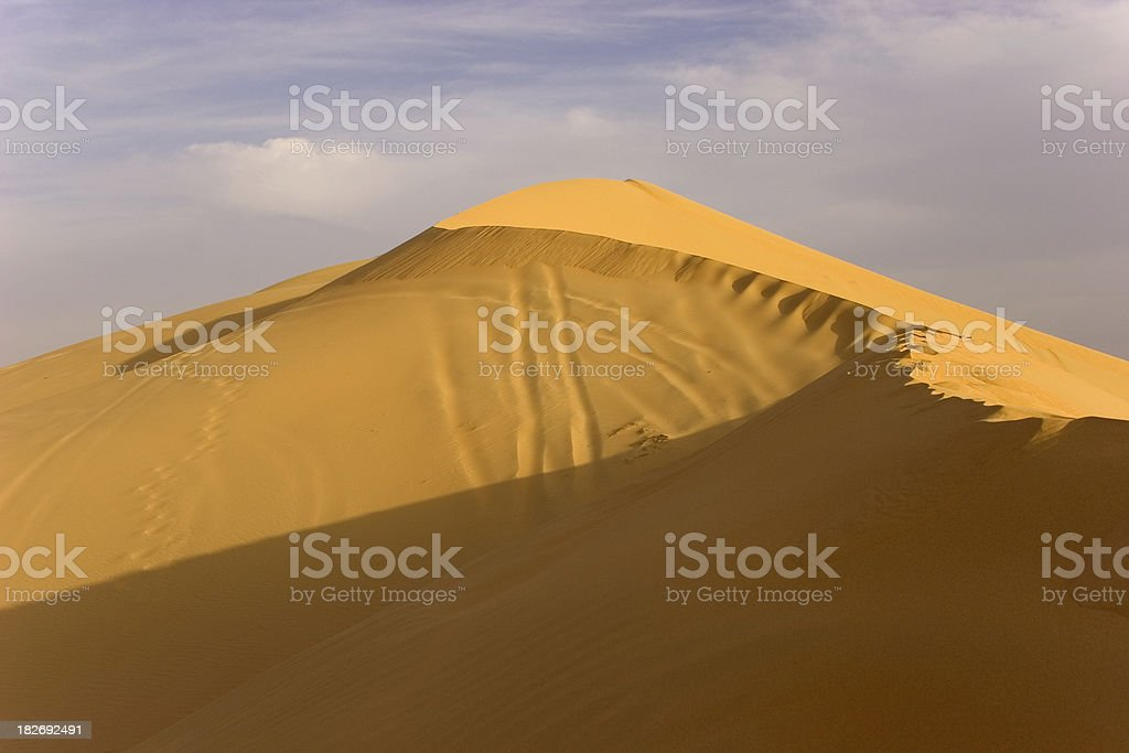 Dunes of Sand royalty-free stock photo