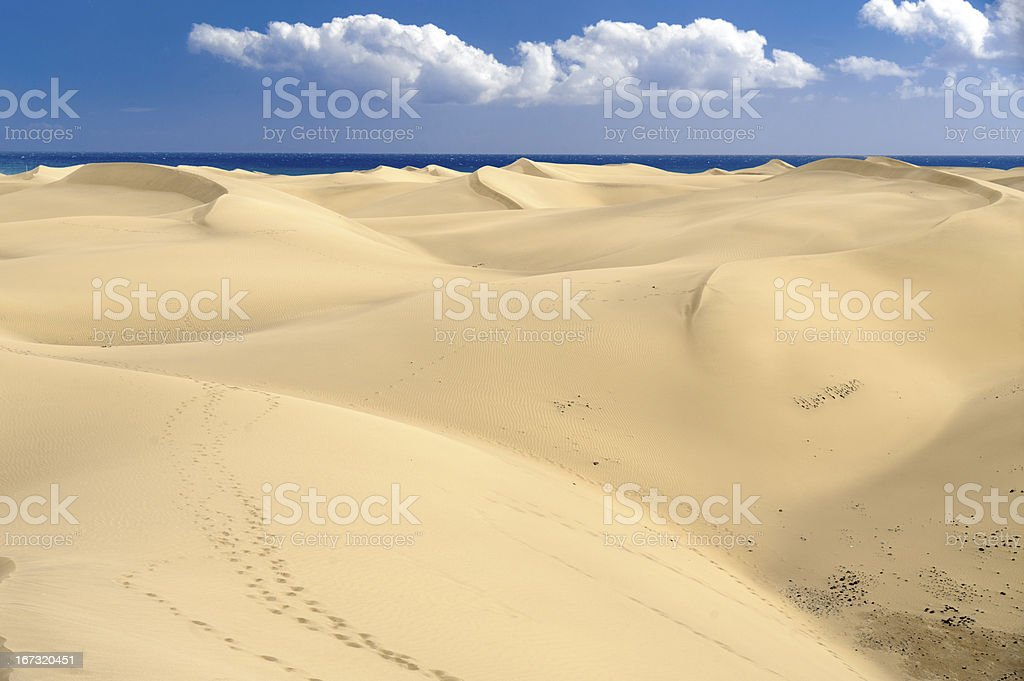 Dunas royalty-free stock photo