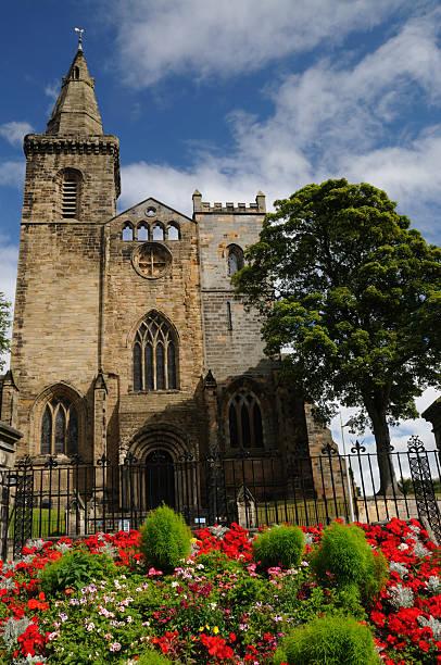 Dunfermline Abbey stock photo