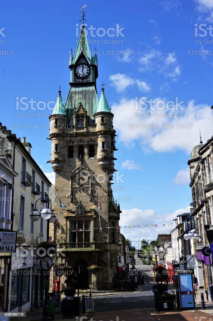 Dunfermline City Chambers stock photo