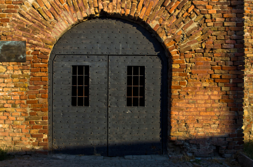 Dungeon Like Doors At Kalemegdan Fortress Belgrade Stock Photo - Download Image Now