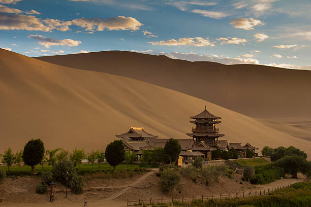 Dunhuang, China stock photo