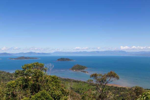 Dunk Island in Queensland, Australia stock photo