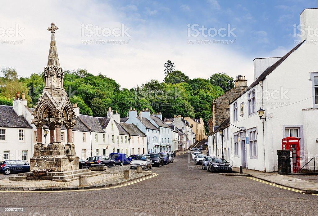 Dunkeld, Scotland stock photo