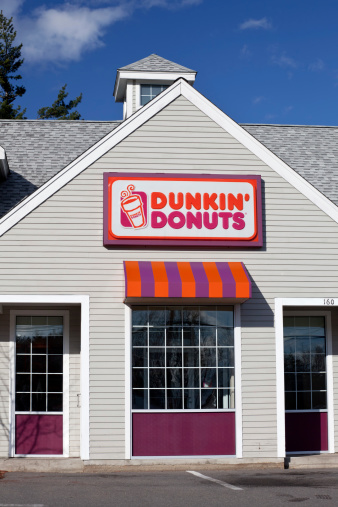 Dunkin Donuts Store Front Stock Photo - Download Image Now
