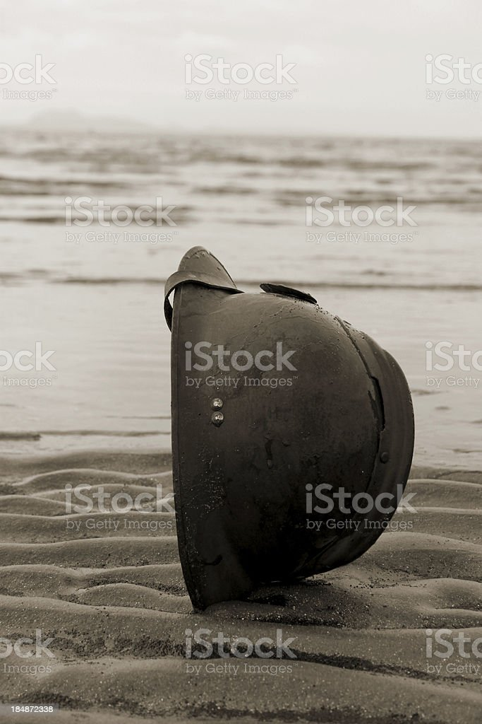 Dunkirk Beach. stock photo