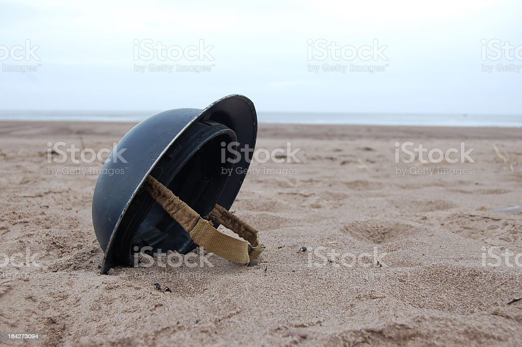 Dunkirk Helmet. stock photo
