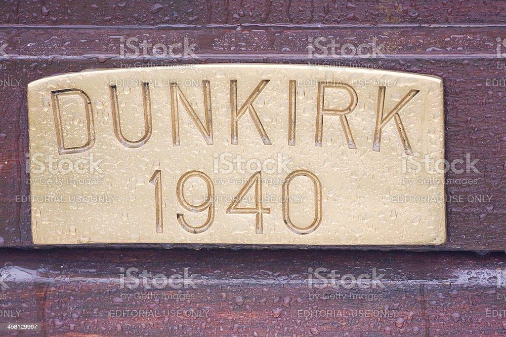 Dunkirk stock photo