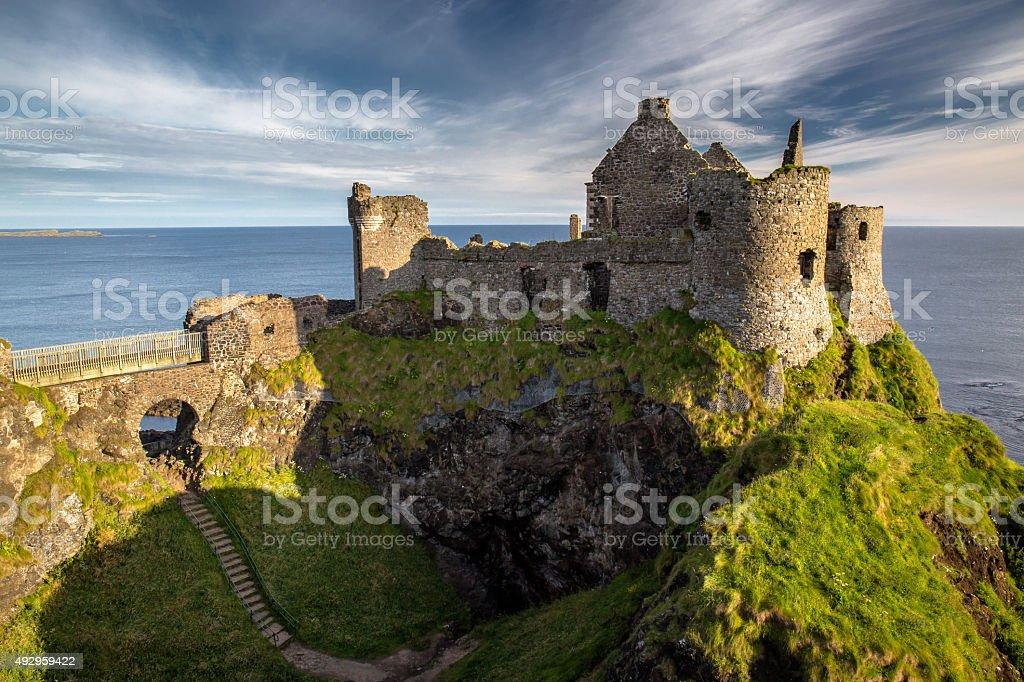 Dunluce Castle - Royalty-free 2015 Stockfoto