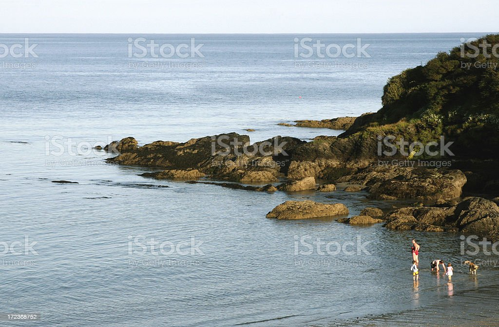 Dunmore Beach stock photo